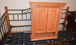 Wood Pro Solid Oak Cabinet ( Brand New)