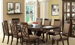 Woodburly 7-Piece Dining Set with Removable Leaf