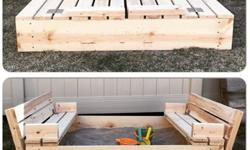 Wooden Daybed Sandbox - Made to Order