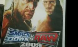 WWE SMACKDOWN VS RAW 2009 Wii [T]