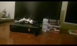 Xbox 360 Slim 250GB with 2-4 Games Of Your Choice, And