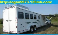 #YHGFHYT 2005 Logan Qualifier 4 Horse Trailer